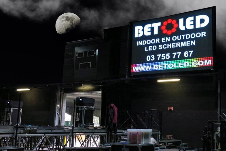 Indoor en Outdoor LED schermen Betoled