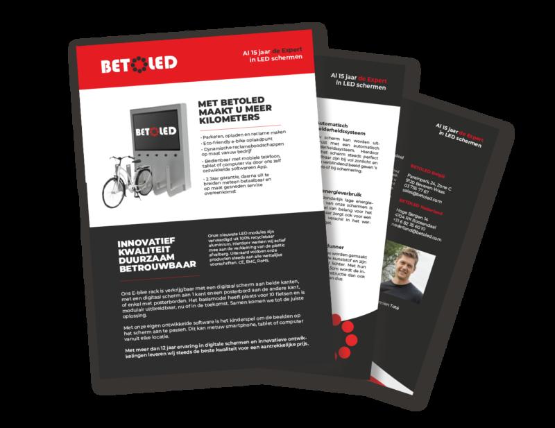 brochure e-bikerack